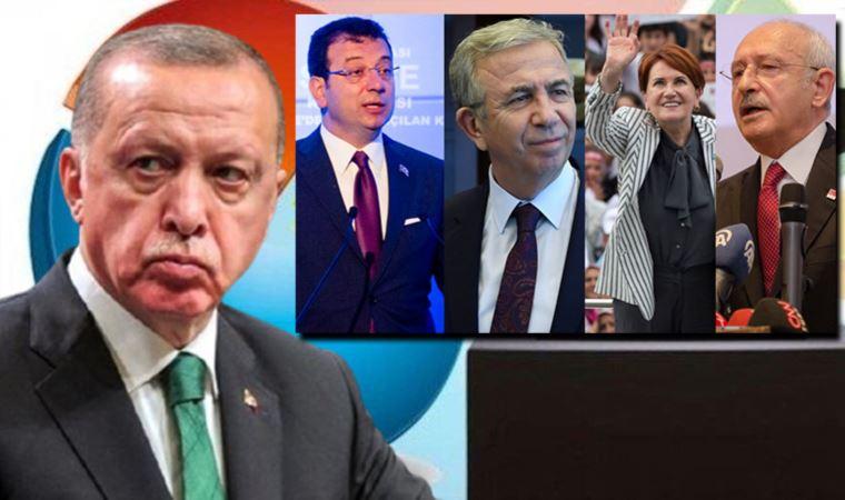 Son anket: Erdoğan 4 aday karşısında kaybediyor
