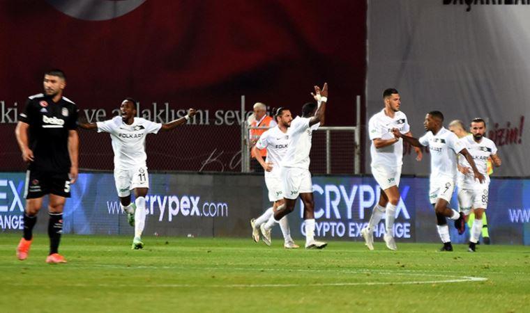 Beşiktaş İzmir'den eli boş döndü
