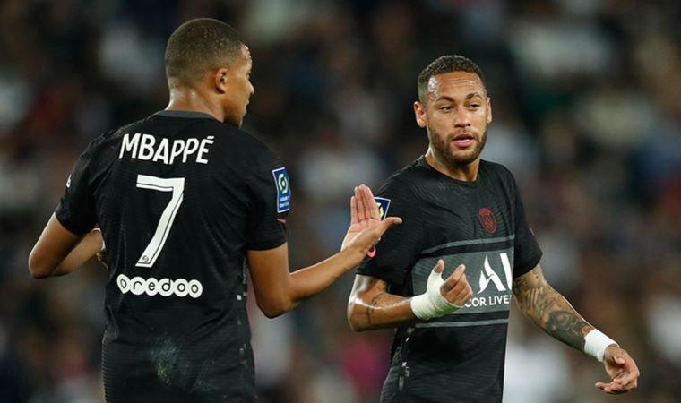 Mbappe ile Neymar arasında kriz!