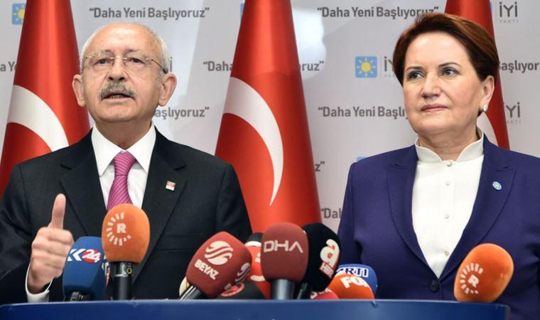 Akşener'in açıklamasının ardından Kılıçdaroğlu çağrısı