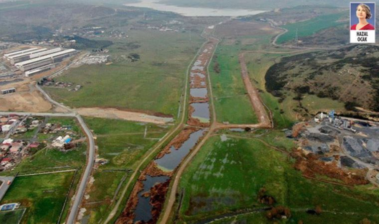 Kanal İstanbul güzergâhındaki yapılaşmaya durdurma