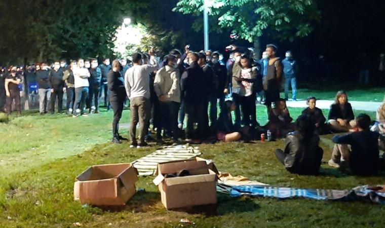 'Barınamayan' öğrencilerin eylemine polis müdahalesi