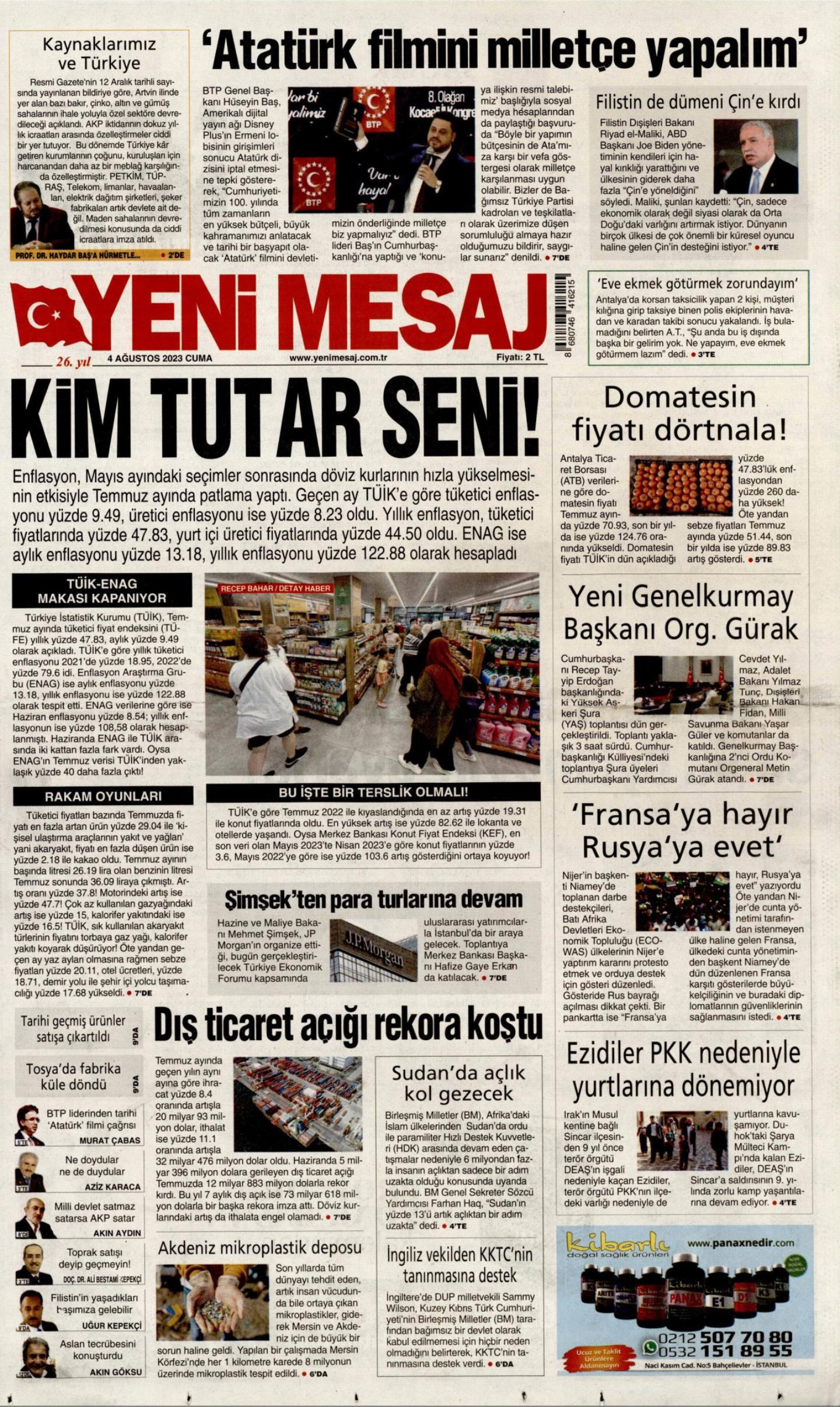 YENI-MESAJ