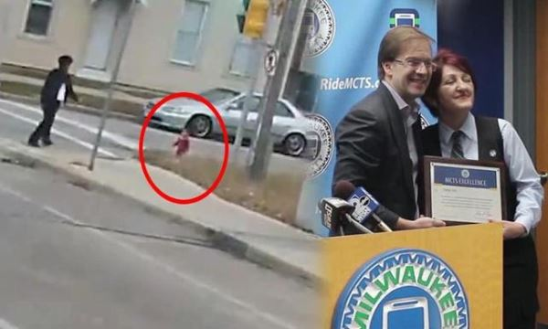 Kaybolan bebeğin imdadına kadın otobüs şoförü yetişti! ile ilgili görsel sonucu
