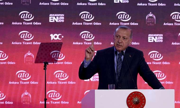 Erdoğan: 'Sen dokunulmazlığına mı sığınıyorsun?'