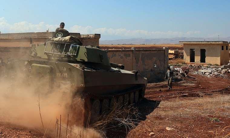 Suriye ordusu Han Şeyhun'u ele geçirdi